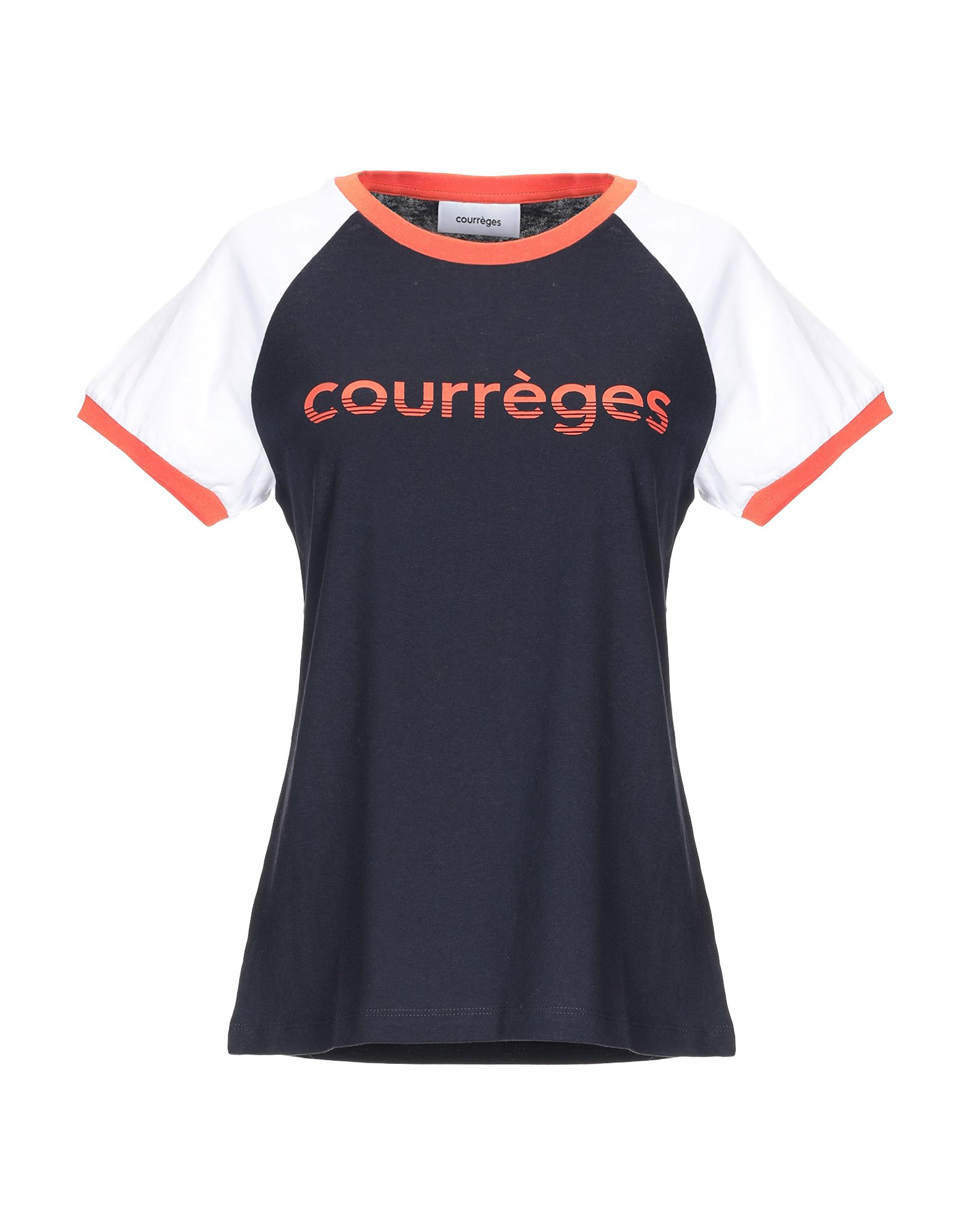 COURRÈGES Футболка courrèges пальто