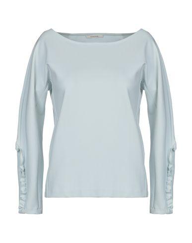 Купить Женскую футболку GIGUE небесно-голубого цвета