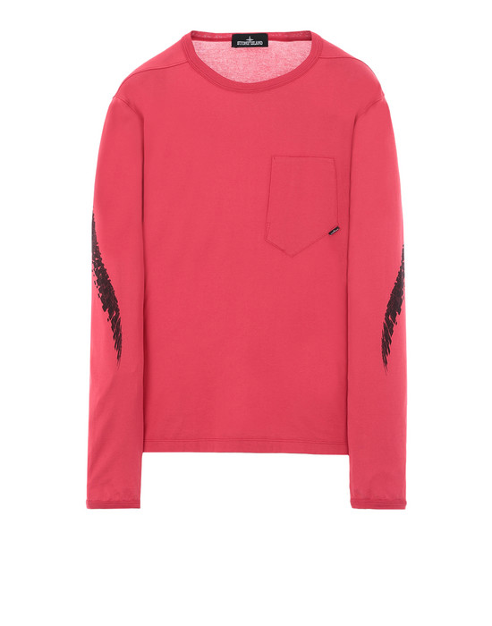 Футболка с длинными рукавами 20210 PRINTED LS CATCH POCKET-T (MAKO JERSEY) STONE ISLAND SHADOW PROJECT - 0
