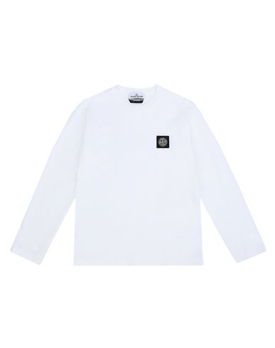 STONE ISLAND JUNIOR Long sleeve t-shirt Man 20447 f