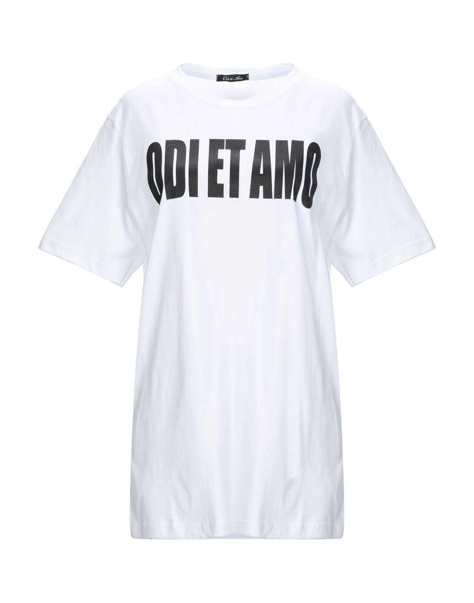 ODI ET AMO Футболка odi et amo футболка