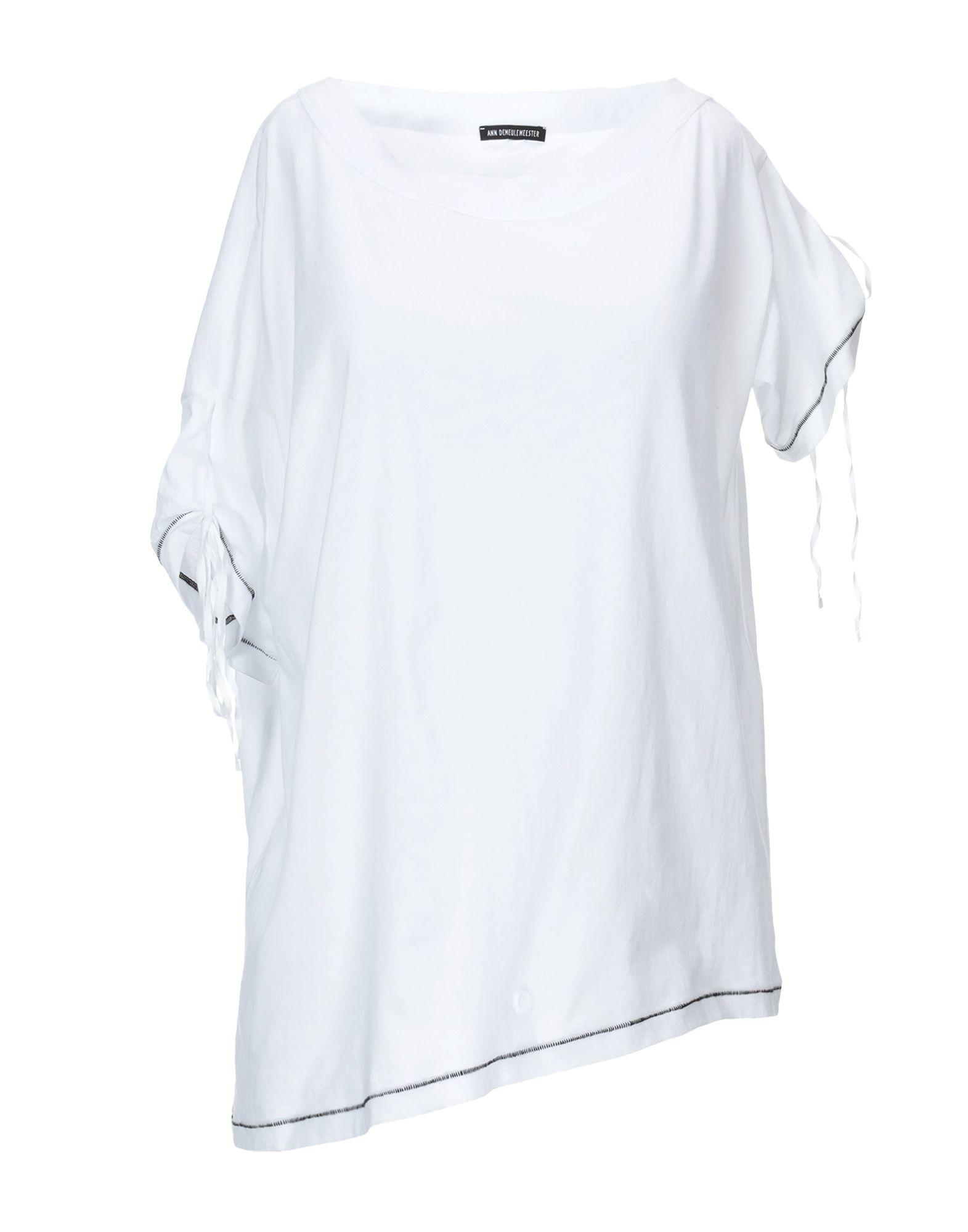 ANN DEMEULEMEESTER Футболка ann demeulemeester футболка