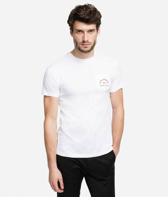 Karl Lagerfeld - Rue Lagerfeld Logo-T-Shirt - 1