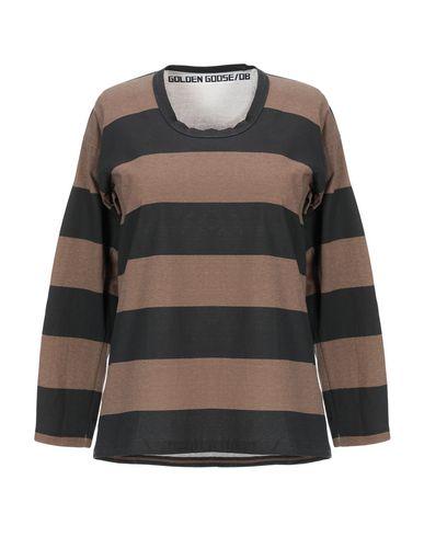Купить Женскую футболку  коричневого цвета