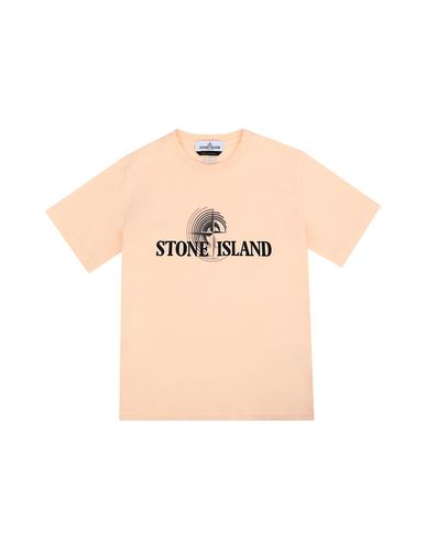 STONE ISLAND JUNIOR Short sleeve t-shirt Man 21455 f
