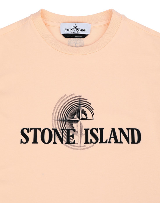 12288534rg - Polo - T-Shirts STONE ISLAND JUNIOR