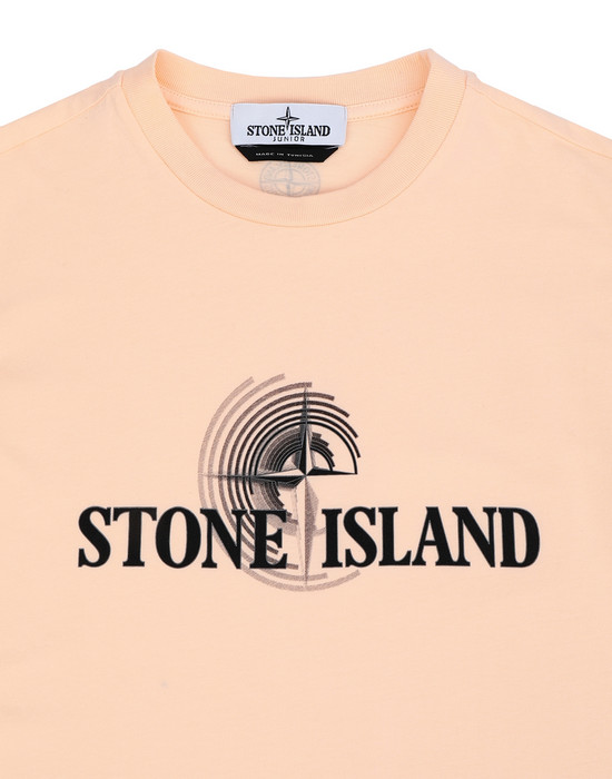 12288537dn - Polo - T-Shirts STONE ISLAND JUNIOR