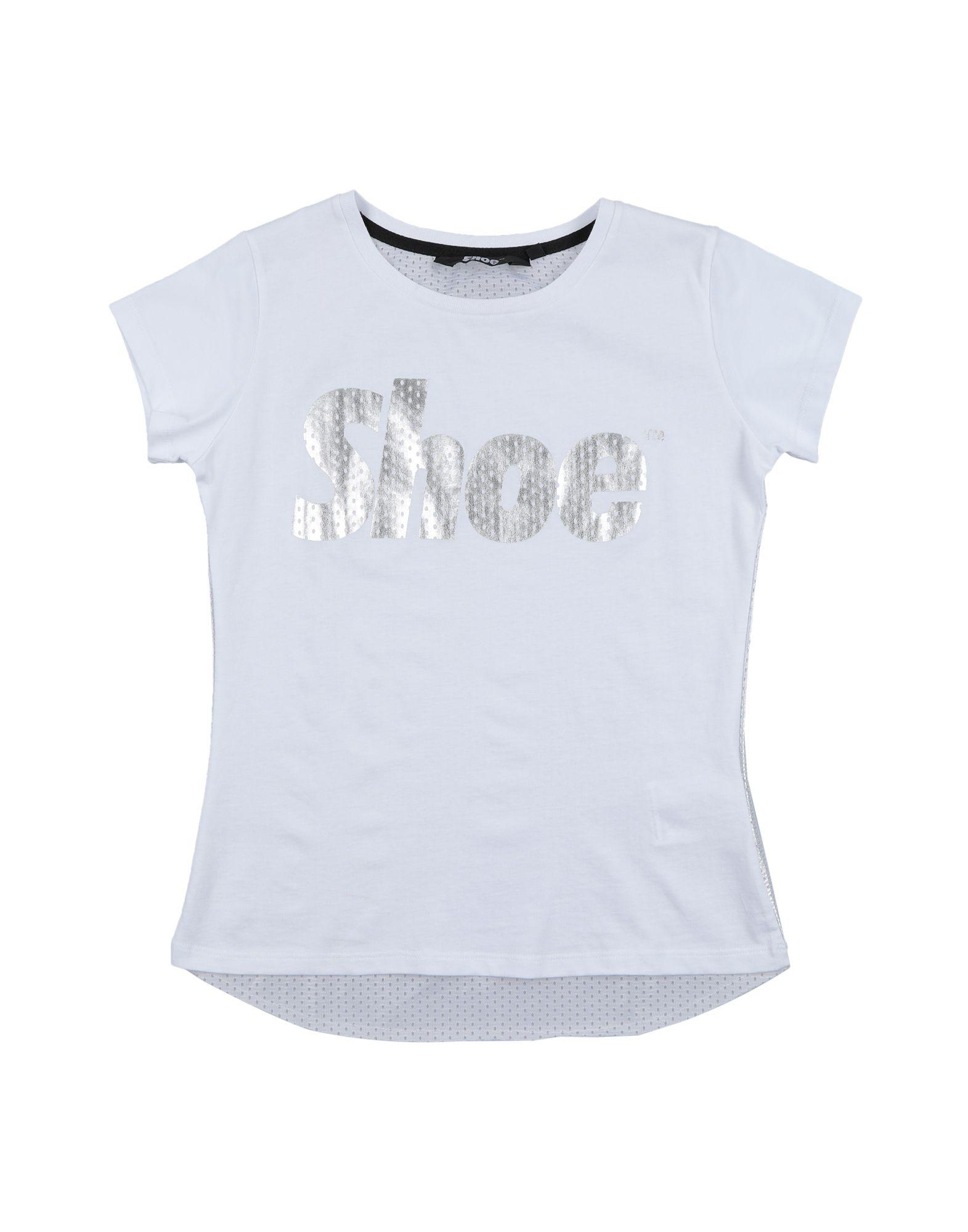 Shoeshine Kids' T-shirts In White