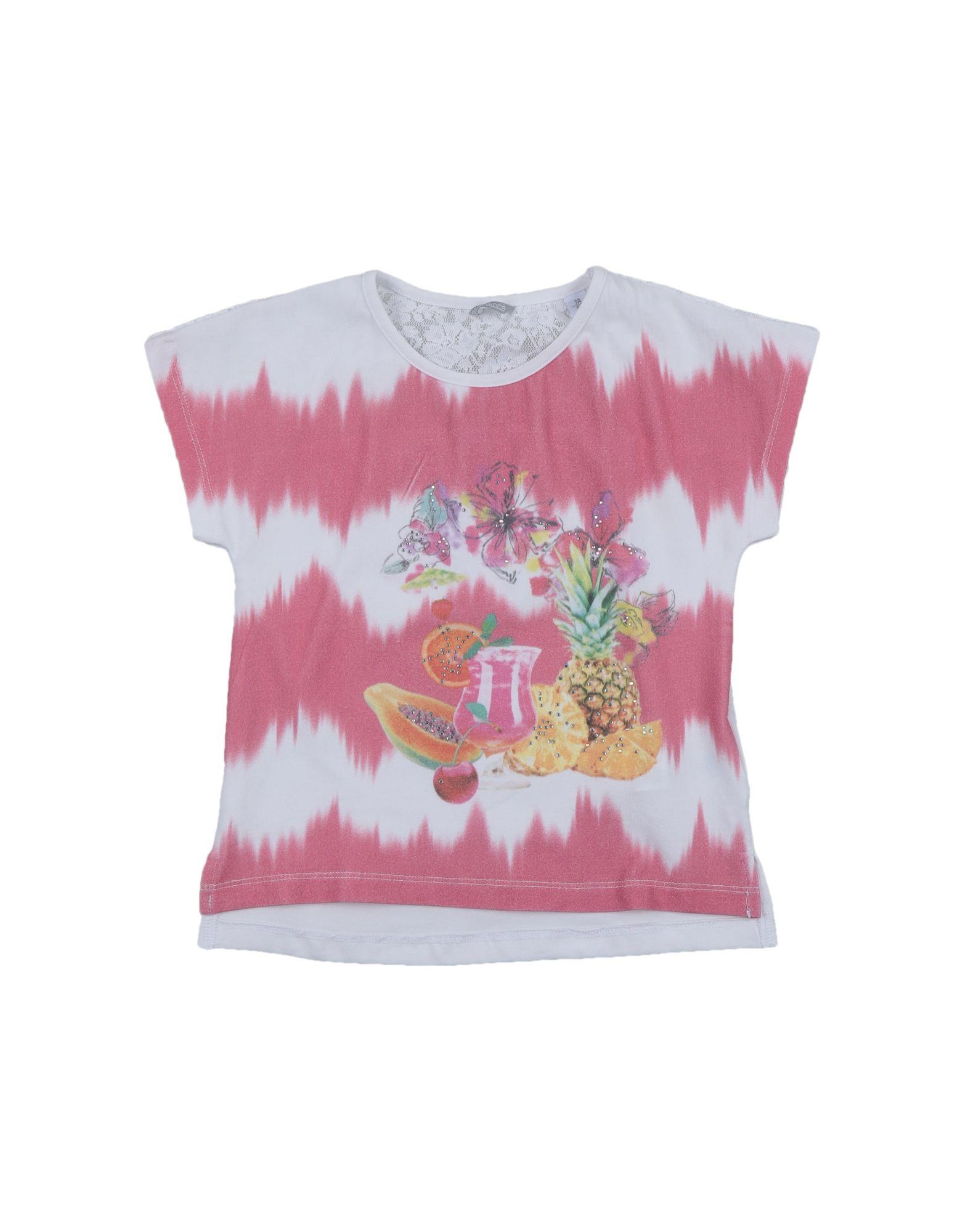 Sarabanda Kids' T-shirts In Pink