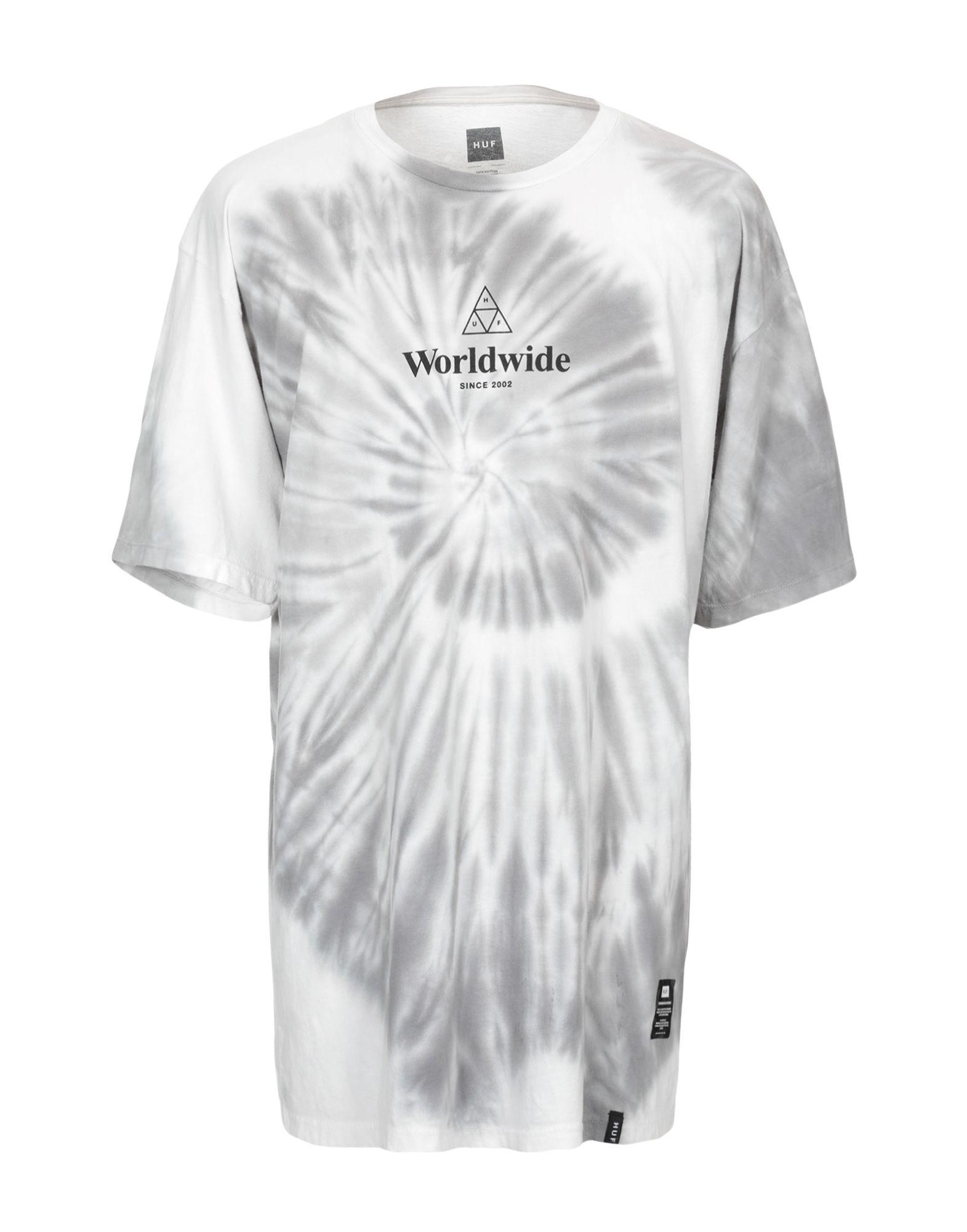 HUF Футболка футболка huf bubbles tee gray