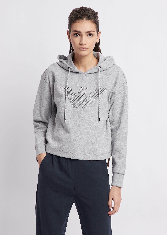 Hoodies - Item 12290239 in Gray