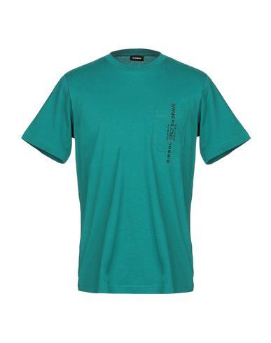 Купить Женскую футболку  изумрудно-зеленого цвета