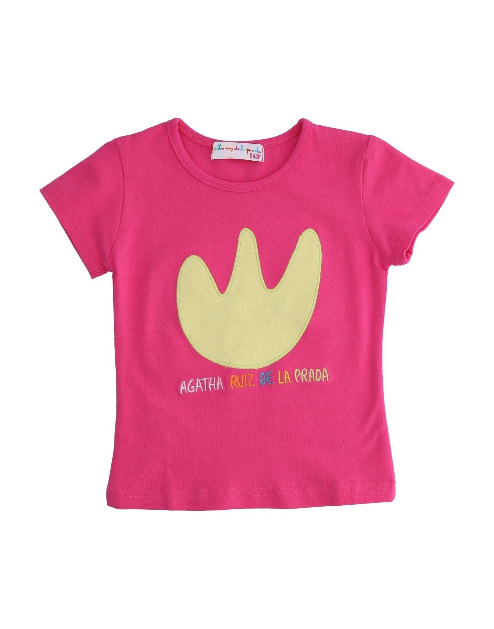 Agatha Ruiz De La Prada Baby Kids' T-shirts In Purple