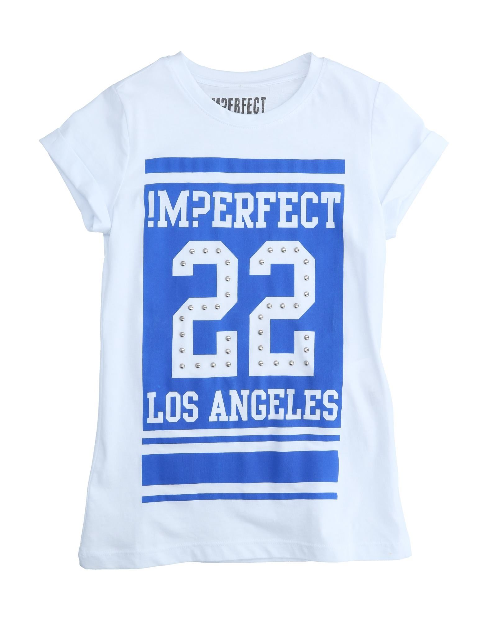 !m?erfect Kids'  T-shirts In White