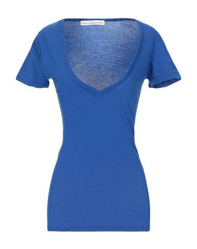 Купить Женскую футболку  ярко-синего цвета