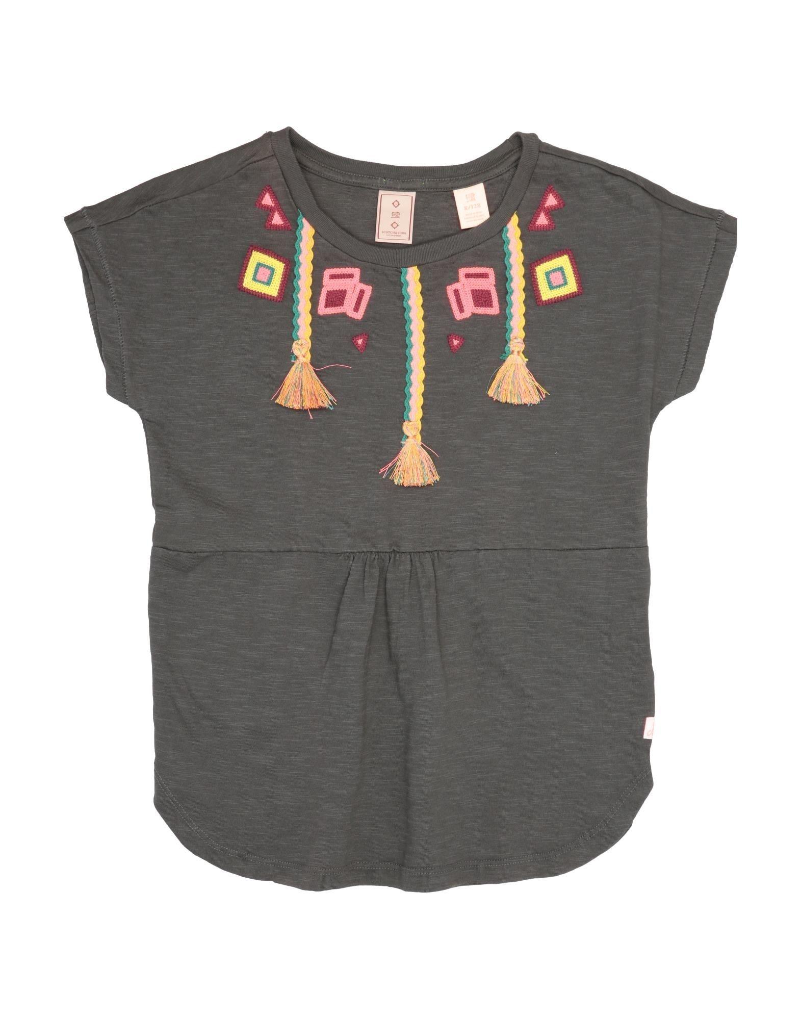Scotch R'belle Kids' T-shirts In Dark Green