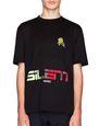 """ブラック """"SILENT MUSIC"""" Tシャツ - Lanvin"""