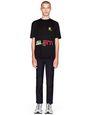 "LANVIN Polos & T-Shirts Man BLACK ""SILENT MUSIC"" T-SHIRT f"