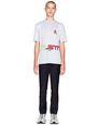"LANVIN Polos & T-Shirts Man GRAY ""SILENT MUSIC"" T-SHIRT    f"