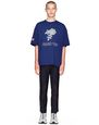"LANVIN Polos & T-Shirts Man OVERSIZED ""ROSE"" PRINT T-SHIRT     f"