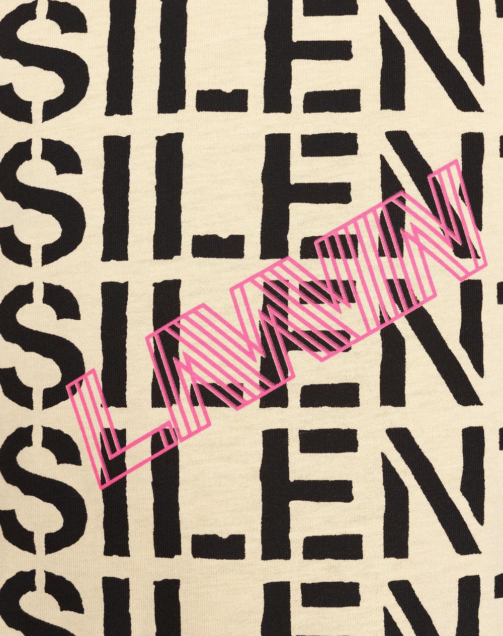 """BEIGE """"MULTI SILENT"""" T-SHIRT - Lanvin"""