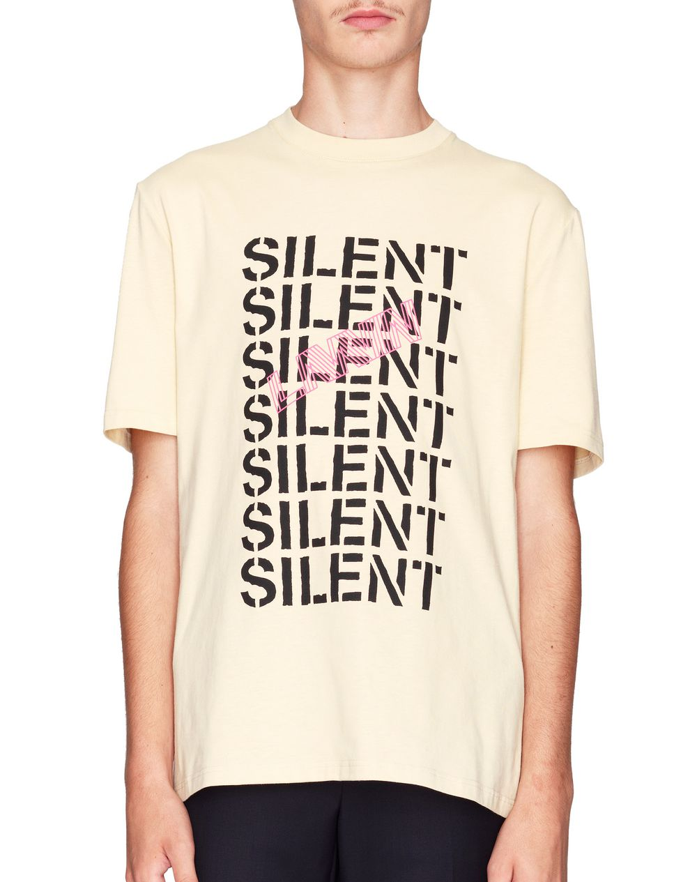 """T-SHIRT BEIGE """"MULTI SILENT"""" - Lanvin"""