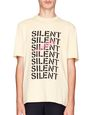 "LANVIN Polos & T-Shirts Man BEIGE ""MULTI SILENT"" T-SHIRT f"