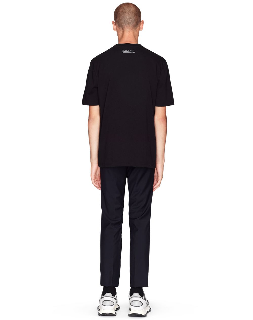 "BLACK ""MULTI SILENT"" T-SHIRT   - Lanvin"