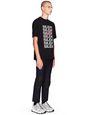 "LANVIN Polos & T-Shirts Man BLACK ""MULTI SILENT"" T-SHIRT   f"