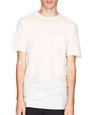 ロング ストライプ デュアルマテリアル Tシャツ     - Lanvin
