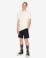 LANVIN Polos & T-Shirts Man LONG STRIPED DUAL-MATERIAL T-SHIRT     f