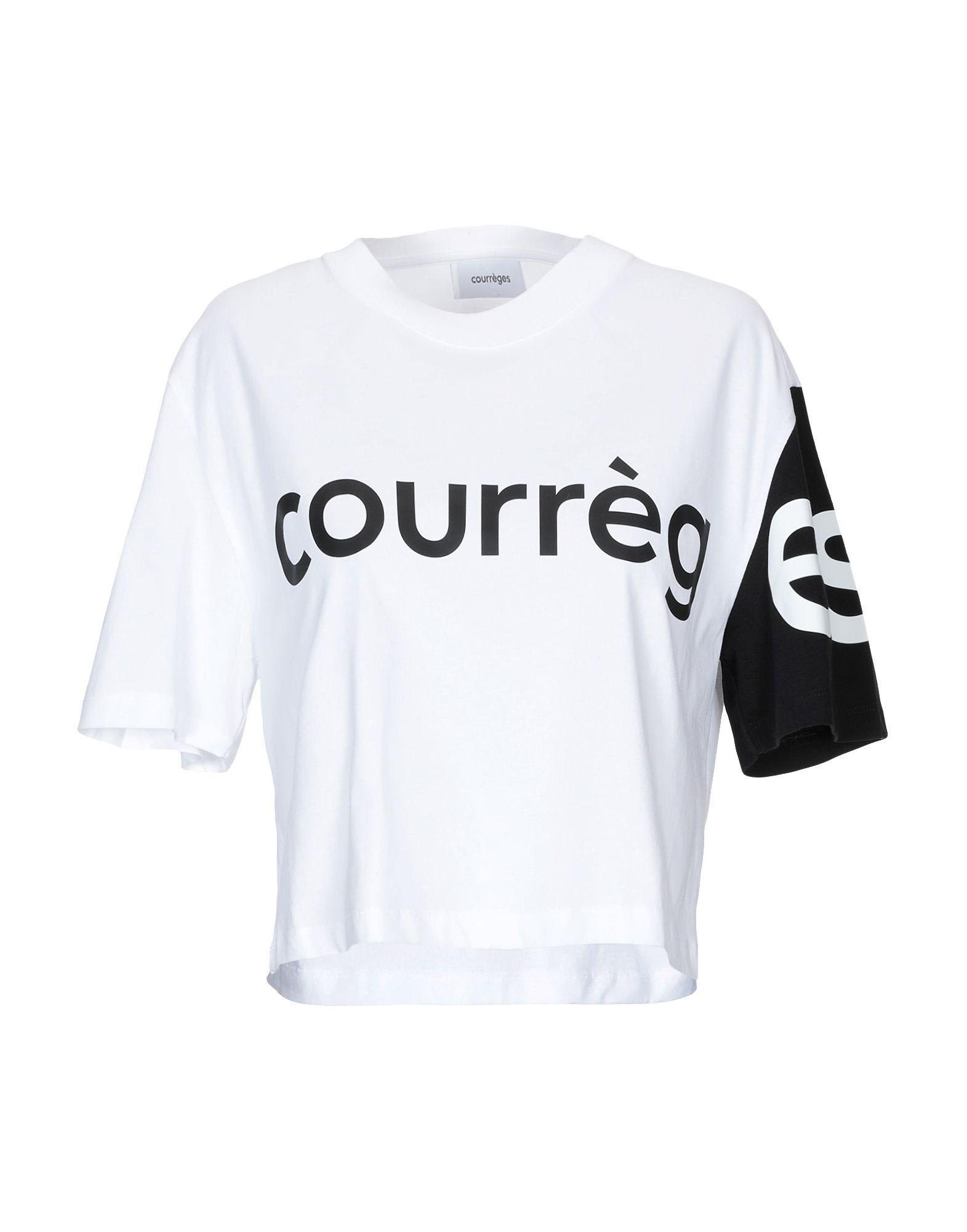 COURRÈGES Футболка courrèges короткое платье
