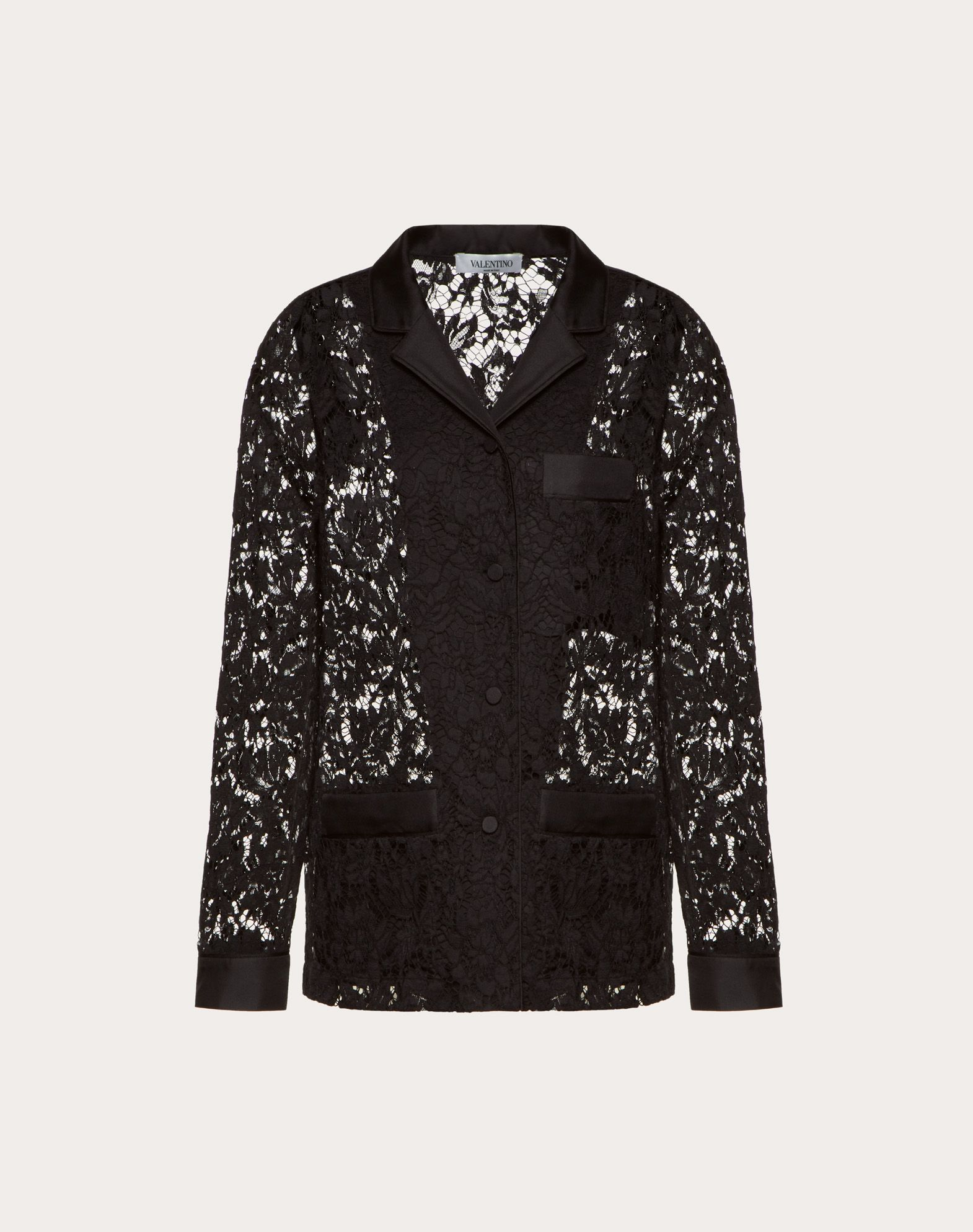 Heavy Lace Pyjama Shirt