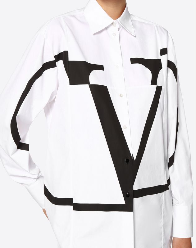 Deconstructed Go Logo Poplin Shirt
