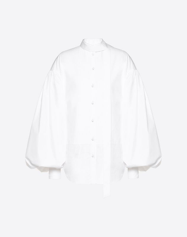 Technical Poplin Top