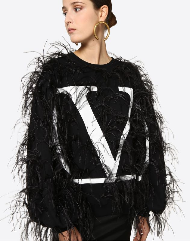 VLOGO Embroidered Sweatshirt