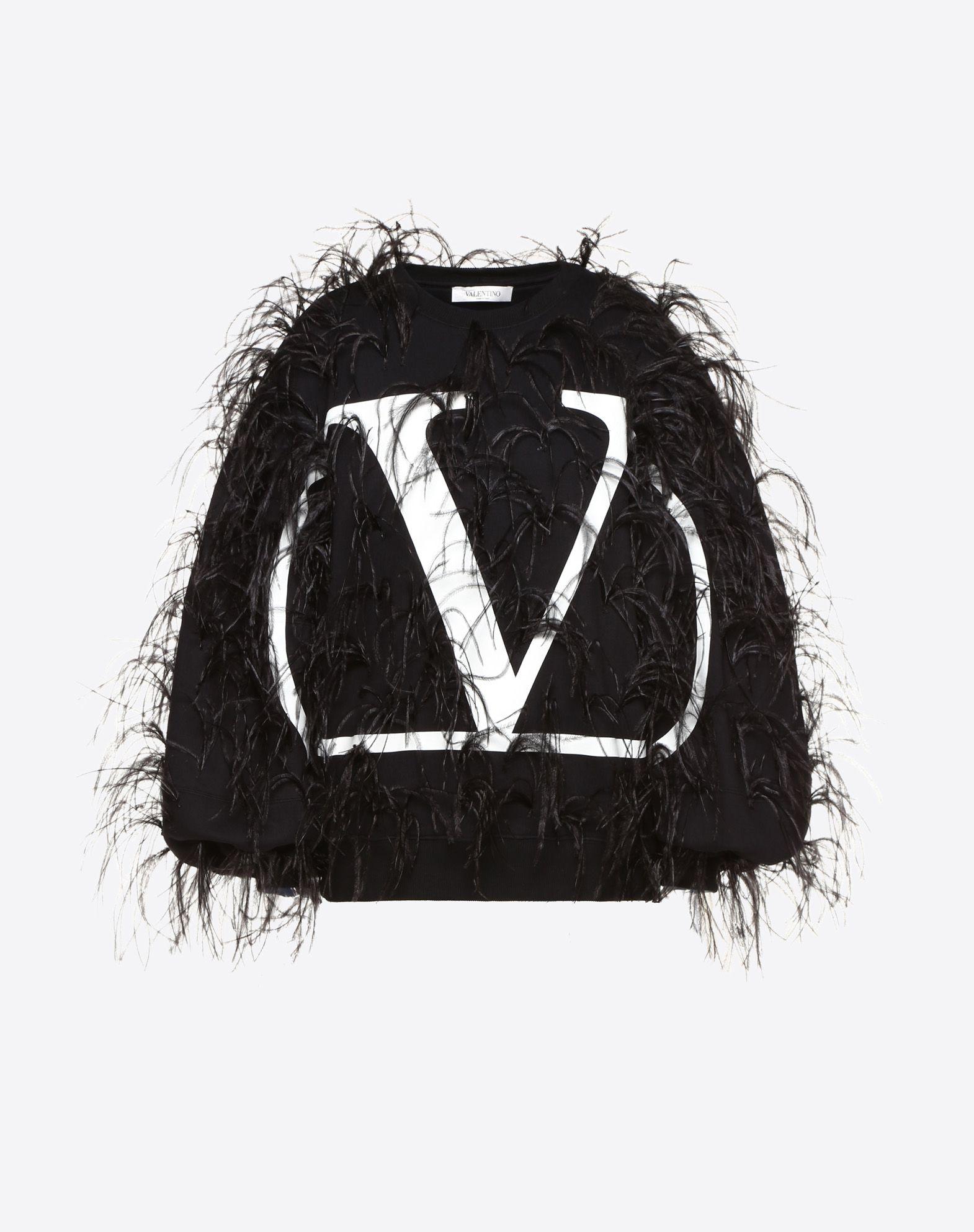 VLOGO Embroidered Sweatshirt
