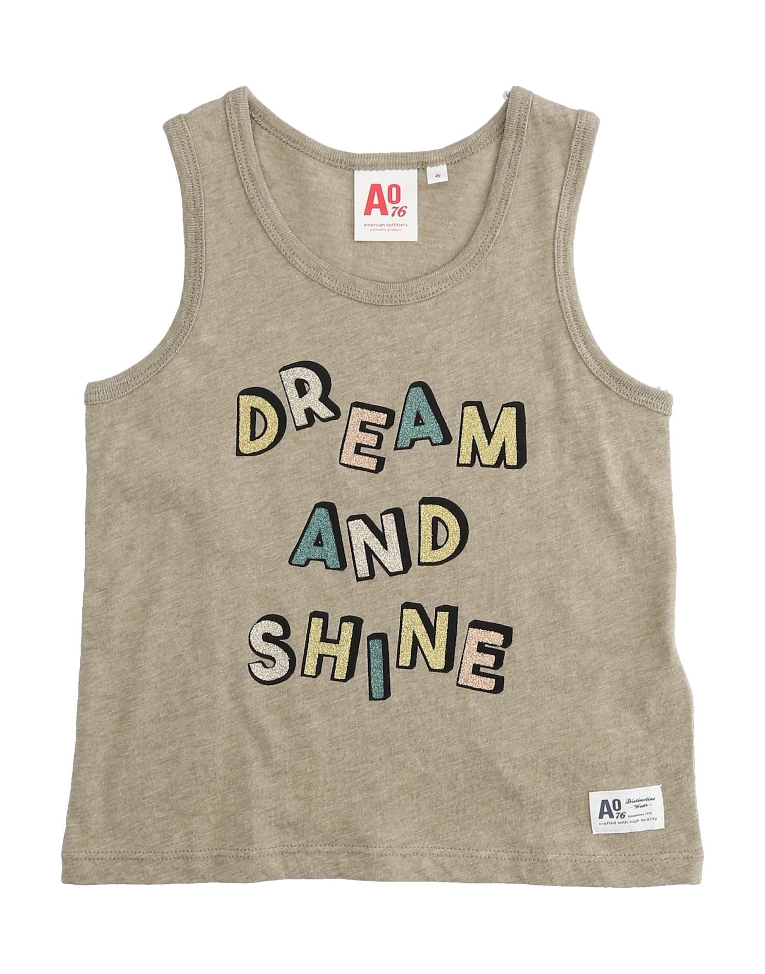 American Outfitters Kids' T-shirts In Gray