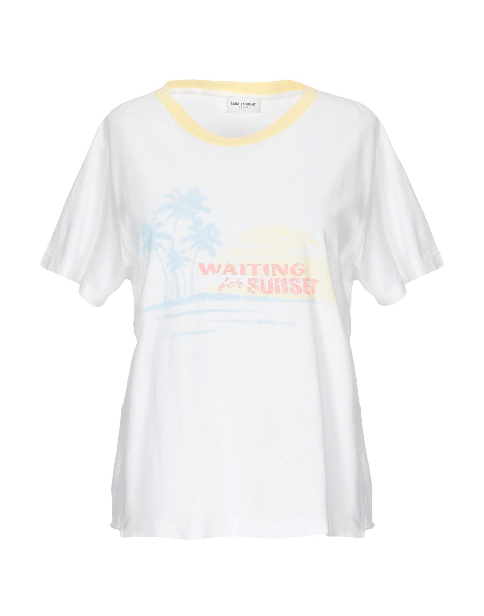 saint laurent футболка SAINT LAURENT Футболка