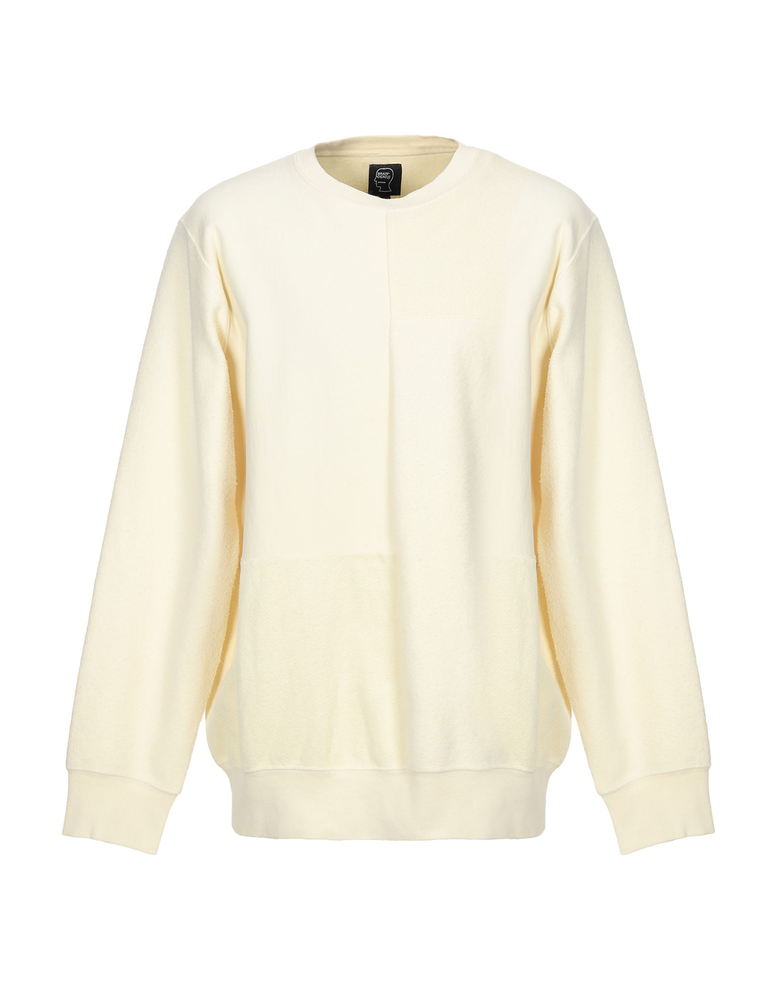 《送料無料》BRAIN DEAD メンズ スウェットシャツ ライトイエロー L コットン 100%