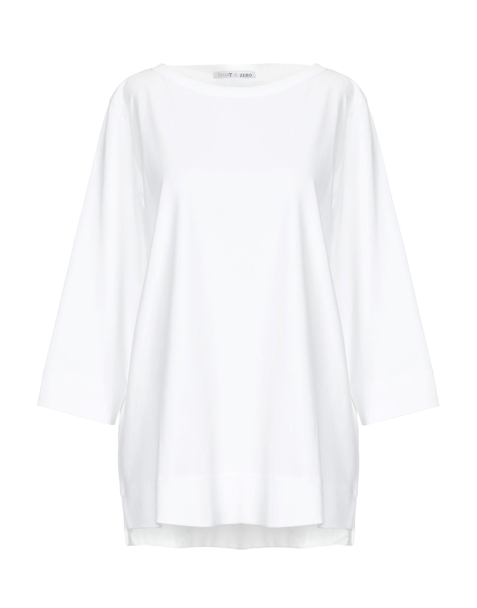 SHIRT C-ZERO Футболка полуприлегающее платье с разрезами double zero