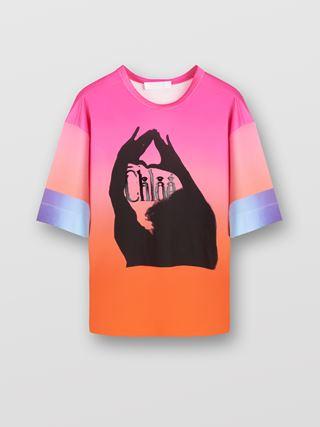 프린트 티셔츠