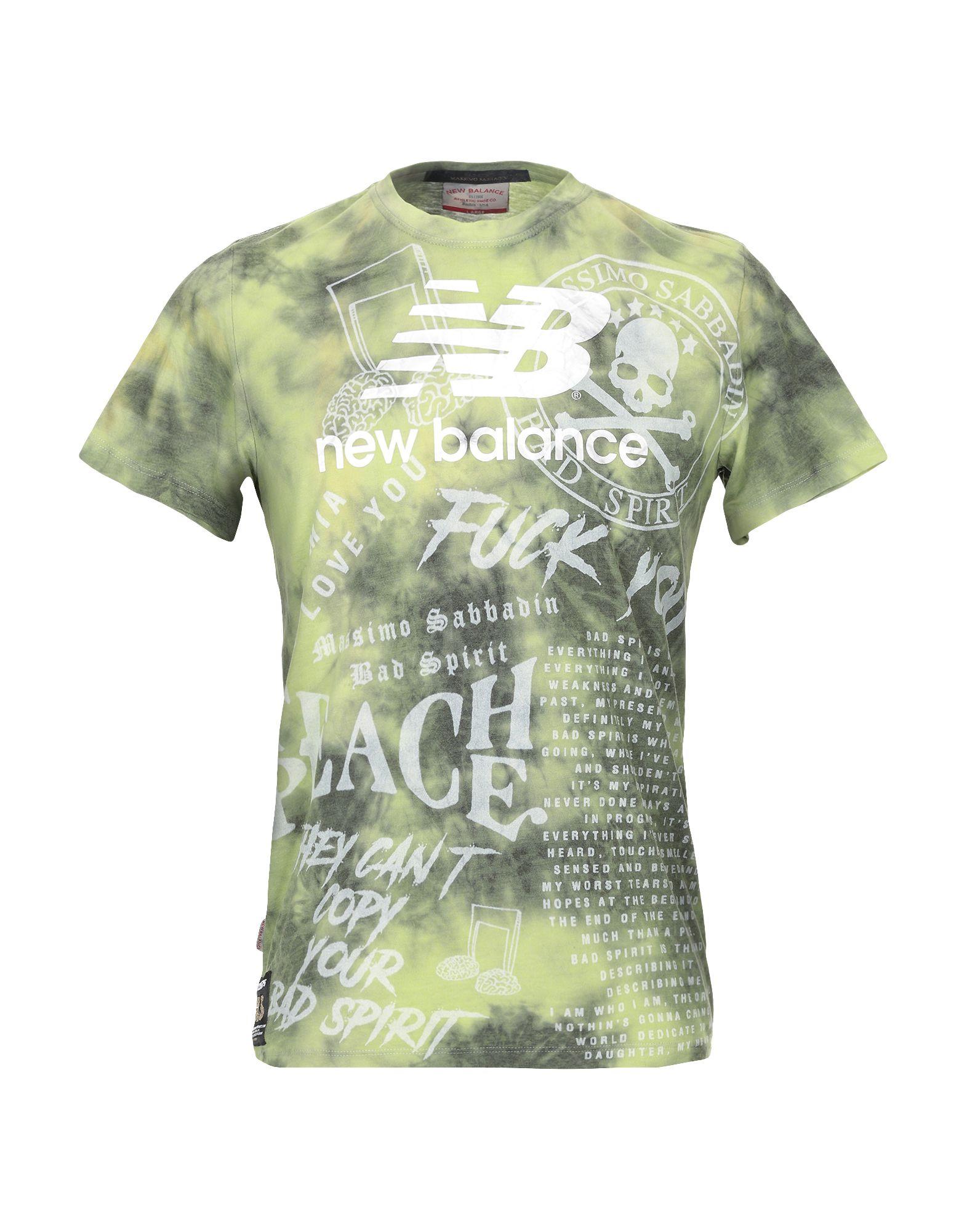 NEW BALANCE x BAD SPIRIT Футболка футболка rebel spirit rebel spirit re032emspj40