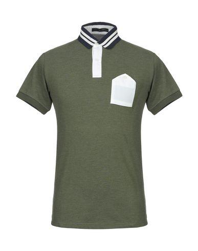 Купить Мужское поло KAI AAKMANN темно-зеленого цвета