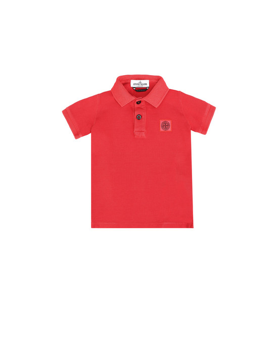Polo 衫 20949 PIGMENT DYE TREATMENT STONE ISLAND JUNIOR - 0