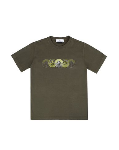STONE ISLAND JUNIOR Short sleeve t-shirt Man 21451 f