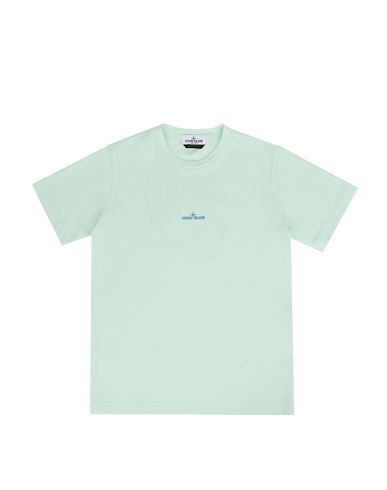 STONE ISLAND JUNIOR Short sleeve t-shirt Man 21452 f