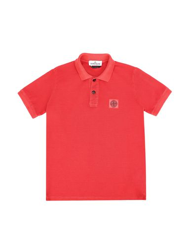 STONE ISLAND JUNIOR Polo shirt Man 20949 f