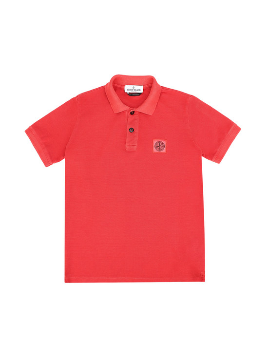 STONE ISLAND JUNIOR Polo 20949 PIGMENT DYE TREATMENT