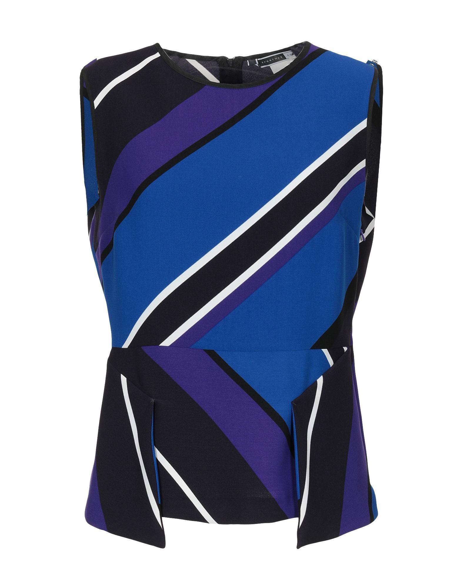 SPORTMAX CODE Топ без рукавов блуза sportmax code sportmax code sp027ewadsc6